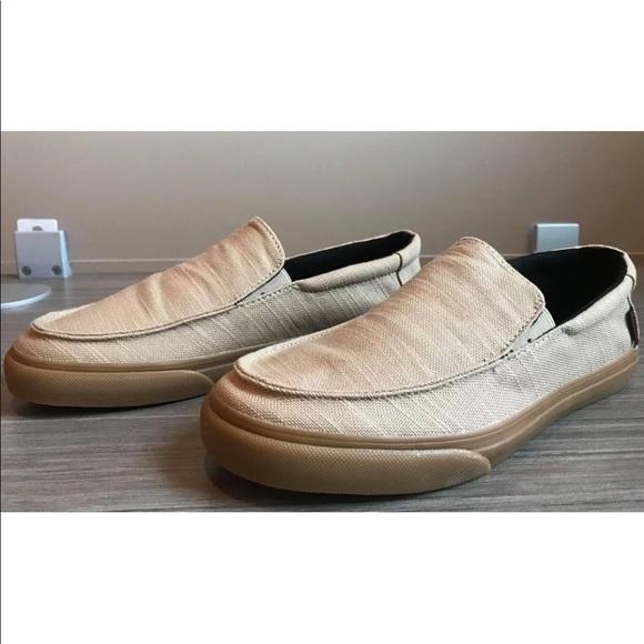 36e8a17577 Vans Men s Bali SF (Hemp) Khaki Rasta Shoes